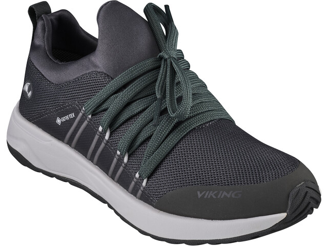 Viking Footwear Engenes GTX Zapatillas Niños, charcoal/white